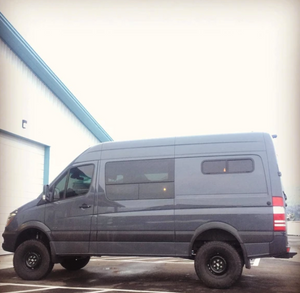 "VAN COMPASS™ STRIKER 4X4 SPRINTER VAN 2.0"" SUSPENSION LIFT SYSTEM (2015+ 2500 4WD SINGLE REAR WHEEL)"