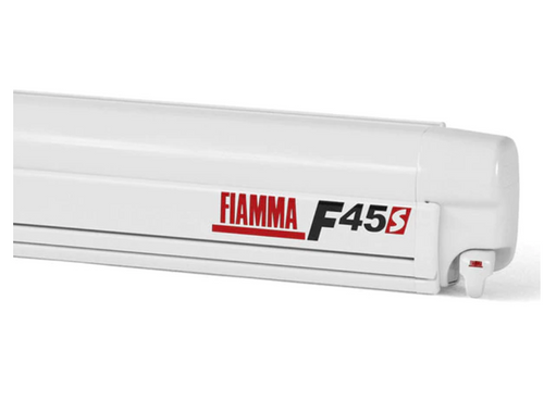 Fiamma F45S Wall/Rack Mount Awning - Royal Grey Fabric