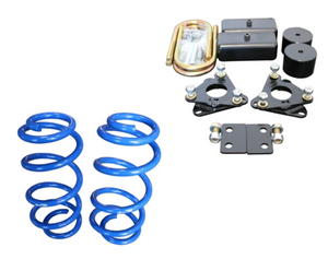 VAN COMPASS™ FORD TRANSIT TOPO 2.0 FRONT AND REAR LIFT KIT (2013-PRESENT, SINGLE OR DUAL REAR WHEEL)