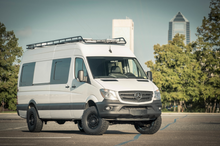 Load image into Gallery viewer, Mercedes Sprinter Adjustable Roof Rack by FreedomVanGo