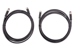 Victron Energy M8 Circular Connector M/F 3 pole cable 1m (bag of 2)