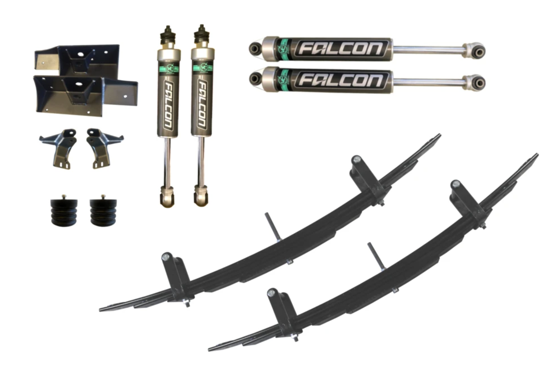 STAGE 3 - VAN COMPASS SUSPENSION PACKAGE - SPRINTER 4X4 (2007-CURRENT 2500)