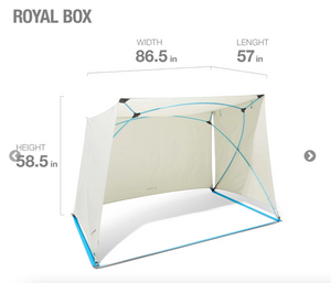 Helinox Royal Shade Box Sand