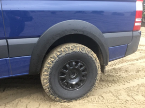 Terrawagon Sprinter 4x4 BIG fender flare kit