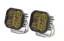"Load image into Gallery viewer, Diode Dynamics Stage Series 3"" SAE/DOT Yellow Pro Standard LED Pod (pair)"