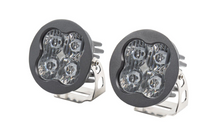 "Load image into Gallery viewer, Diode Dynamics Stage Series 3"" SAE/DOT White Pro Round LED Pod (pair)"