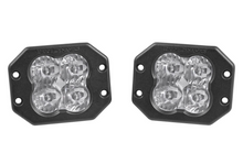 "Load image into Gallery viewer, Diode Dynamics Stage Series 3"" SAE/DOT White Pro Flush Mount LED Pod (pair)"