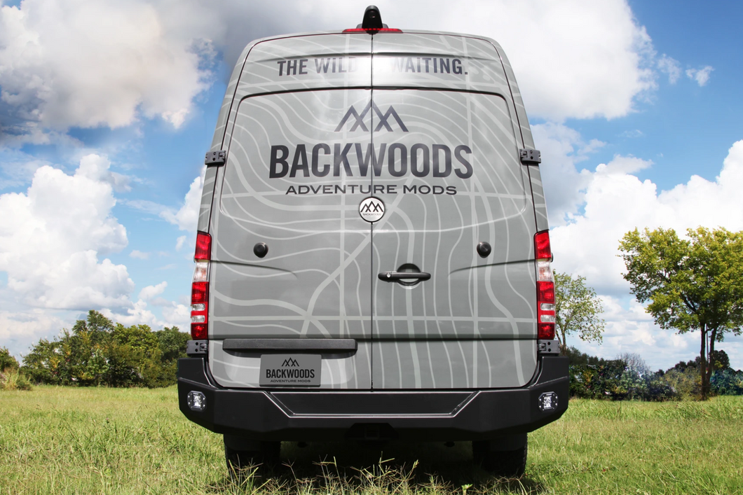 Backwoods Adventure Mods Mercedes Sprinter (2014-2018) Rear Bumper