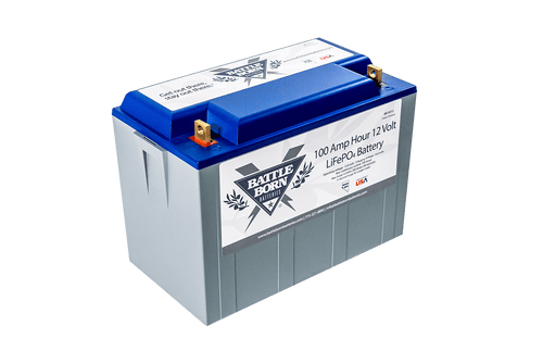 Battle Born 100 Ah 12V LiFePO4 Deep Cycle Battery