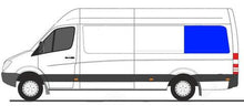 "Load image into Gallery viewer, DRIVER AMAuto REAR QUARTER SCREENED HALF-SLIDER WINDOW SPRINTER VAN 170""WB 07-20"
