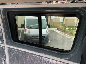 AM Auto Driver Side Forward Screened Half-Slider Window Sprinter Van 2007-2020