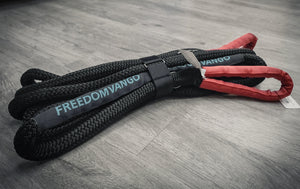 "FreedomVanGo Kinetic Recovery Ropes 1""x30'"