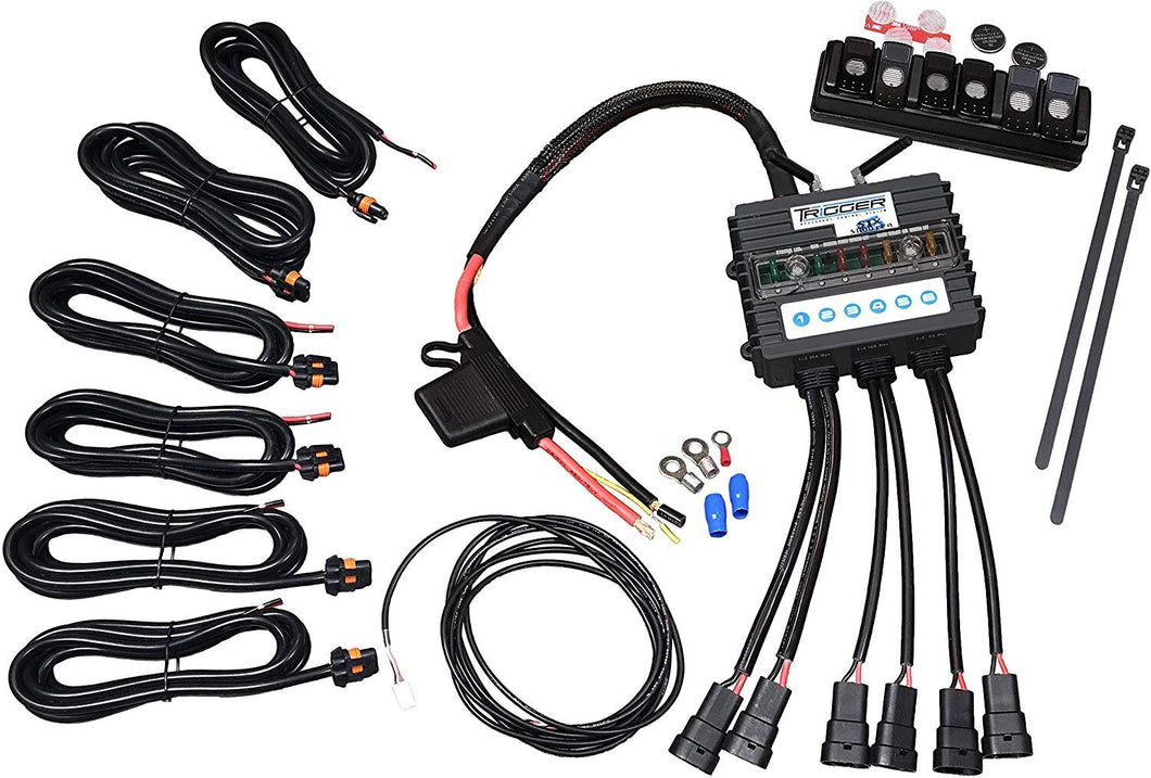 Trigger 6 Shooter Lights/Electrical Controller
