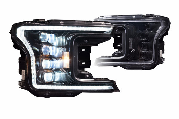 2018+ Ford F-150 Prebuilt LED Headlights by morimoto - PRIMO DYNAMIC
