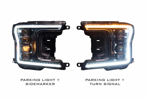 2018+ Ford F-150 Prebuilt LED Headlights by morimoto