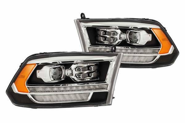 2009-2019 Dodge Ram headlights alphaRex pro series - PRIMO DYNAMIC
