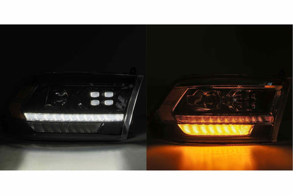 2009-2019 Dodge Ram headlights alphaRex pro series