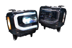 2014-2017 gmc sierra headlight custom XB headlights - PRIMO DYNAMIC