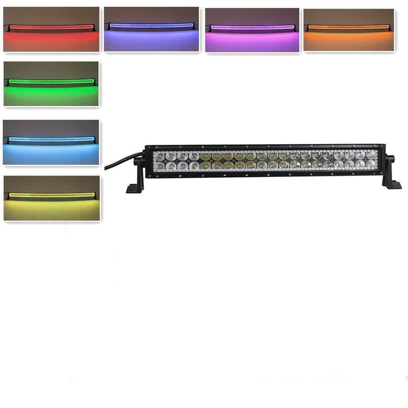 halo rgb LED LIGHT BAR (MULTI-COLORED with chasing)