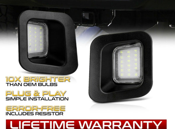 2003-2018 dodge ram LED License Plate Light Full Housing - PRIMO DYNAMIC