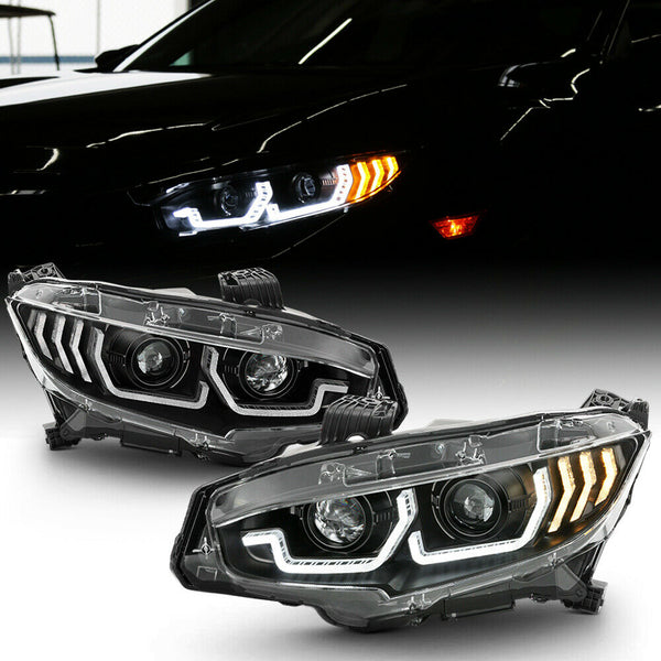 16-18 Honda Civic headlights