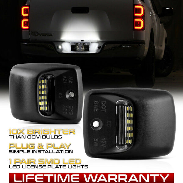Tundra 2000-2013 Bumper License Plate Light Lamp - PRIMO DYNAMIC