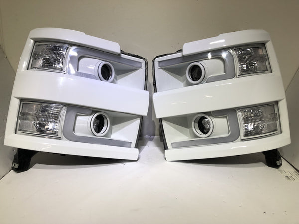 "2015-2018 2500/3500 Chevy Silverado ""Cyclops Edition"" Headlights - PRIMO DYNAMIC"