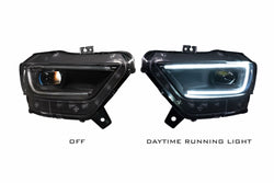 2015-2017 ford Mustang Prebuilt LED Headlights - PRIMO DYNAMIC