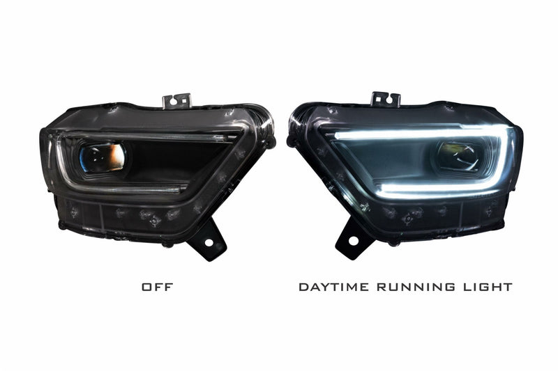 2015-2017 ford Mustang Prebuilt LED Headlights
