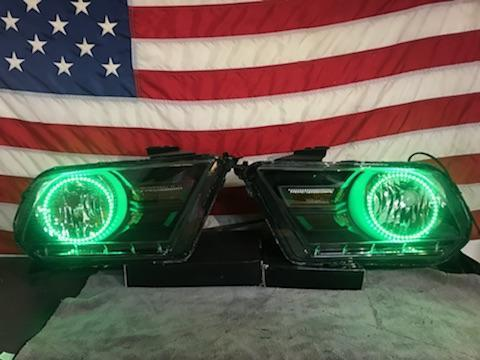 2010-2013 Mustang Prebuilt LED Headlights
