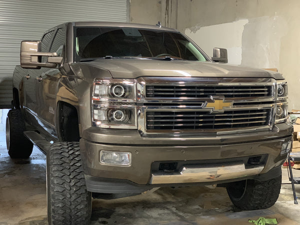 14-15 Chevy Silverado Projector-Style Headlights