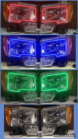 2009-2014 Ford F-150 Prebuilt LED Headlights - PRIMO DYNAMIC