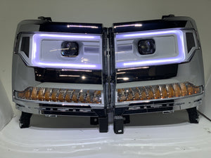 "2016-2018 1500 Chevy Silverado ""Cyclops Edition"" Headlights"
