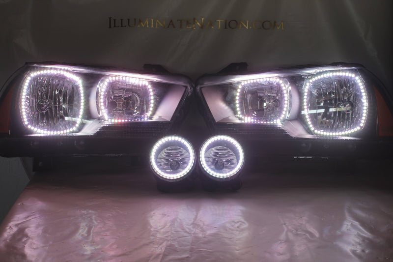 2011-2014 Dodge Charger Prebuilt LED Headlights - PRIMO DYNAMIC