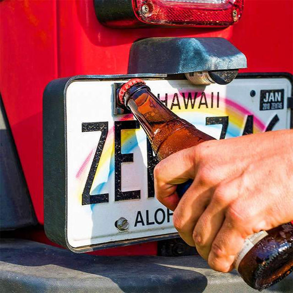 License Plate Bottle Opener - PRIMO DYNAMIC