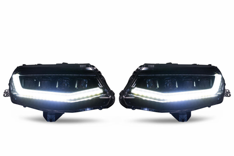 CHEVROLET CAMARO (16-18): XB LED HEADLIGHTS - PRIMO DYNAMIC