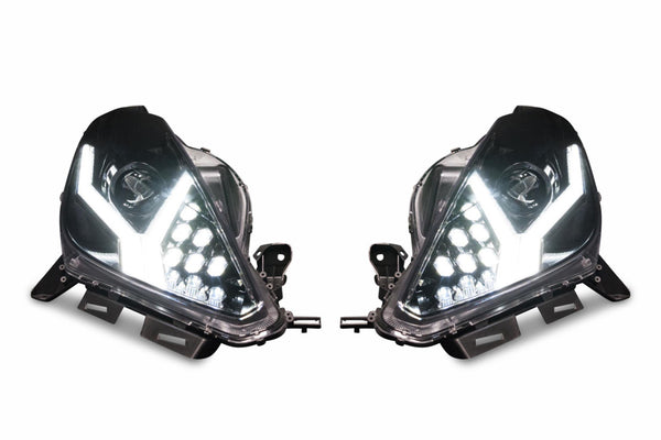 CHEVROLET CORVETTE (14-19): XB LED HEADLIGHTS - PRIMO DYNAMIC