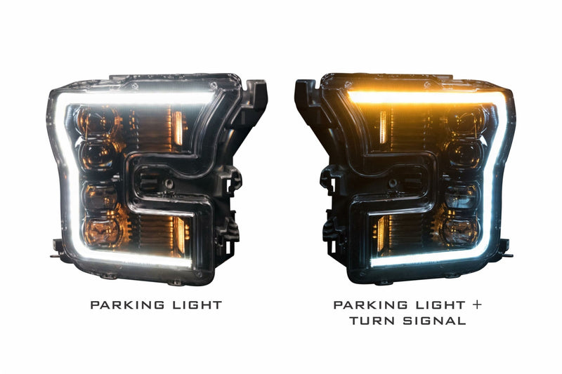 2015-2017 Ford F-150 Prebuilt LED Headlights by morimoto - PRIMO DYNAMIC