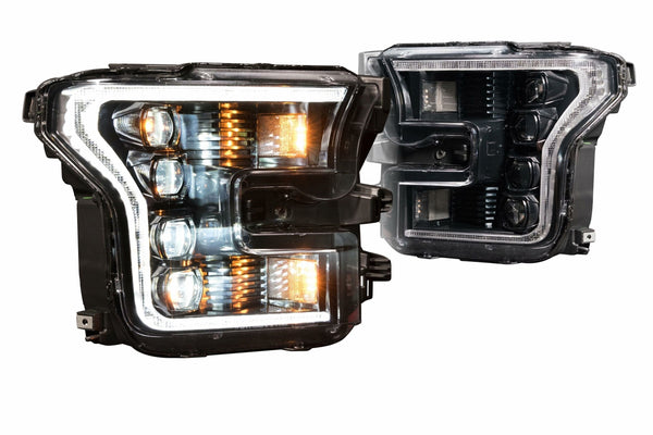 2015-2017 Ford F-150 Prebuilt LED Headlights by morimoto