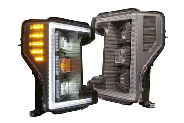 2017-2019 Ford F-250 Prebuilt LED Headlights by morimoto hybrid - PRIMO DYNAMIC