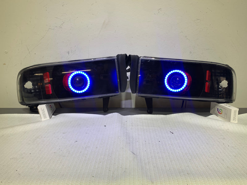 1994-2002 Dodge Ram Prebuilt LED Headlights