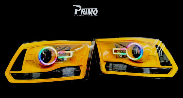 2009-2019 Dodge Ram Prebuilt Headlights - PRIMO DYNAMIC