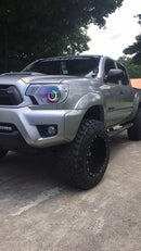 2012-2015 Toyota Tacoma Prebuilt LED Headlights - PRIMO DYNAMIC