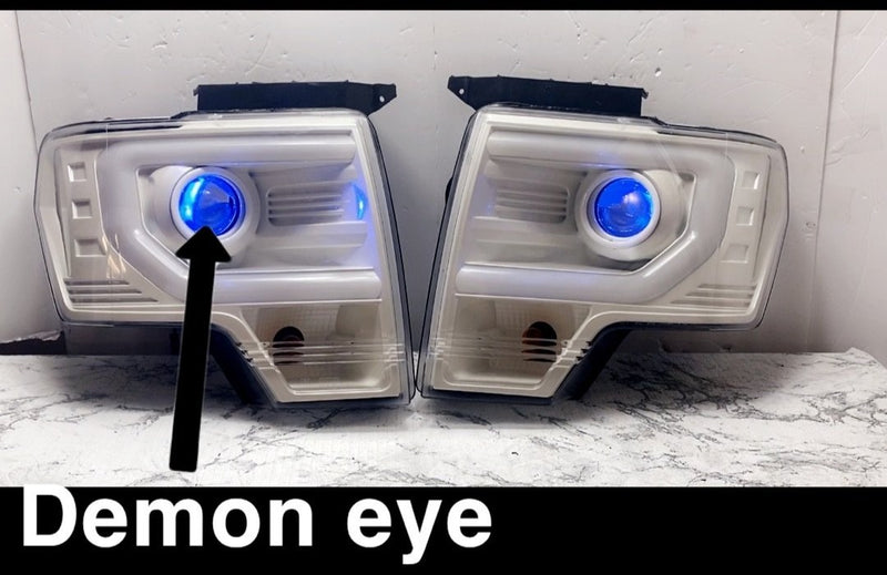 Ford F-150 Raptor Prebuilt LED Headlights