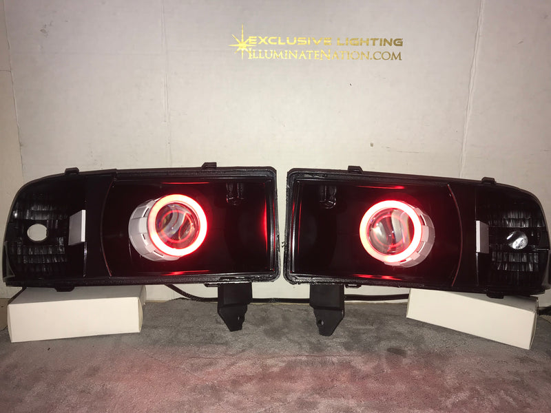 1994-2002 Dodge Ram Prebuilt LED Headlights - PRIMO DYNAMIC