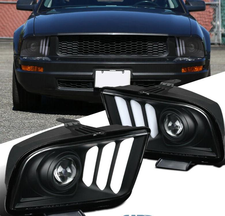 2005-2009 ford mustang custom headlghts