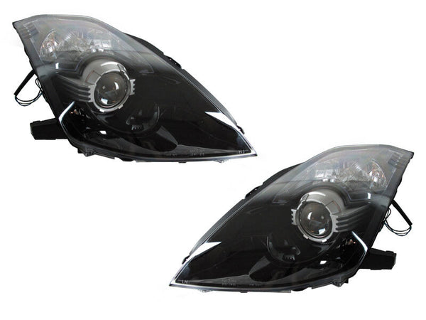 2003-2009 350z prebuilt headlights - PRIMO DYNAMIC