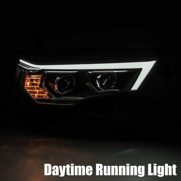 "2014-2020 4Runner prebuilt headlights ""AlphaRex edition"""