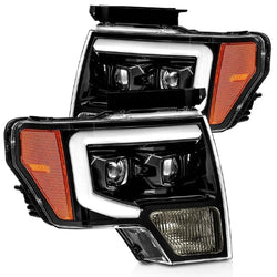 "f-150 2009-2014 prebuilt headlights ""AlphaRex edition"" - PRIMO DYNAMIC"