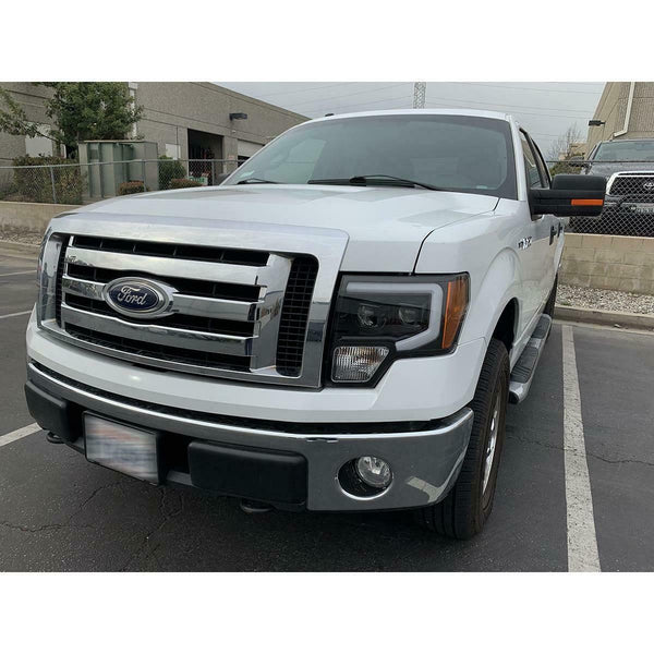 "f-150 2009-2014 prebuilt headlights ""AlphaRex edition"""